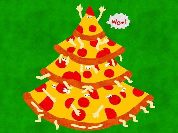 ピザのツリー