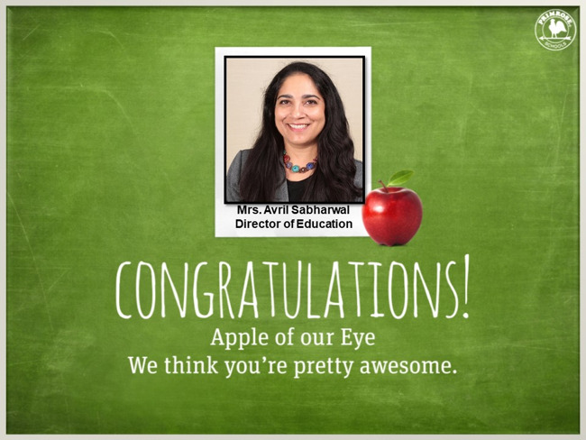 director of education apple of the eye october green red primrose schools preston meadow