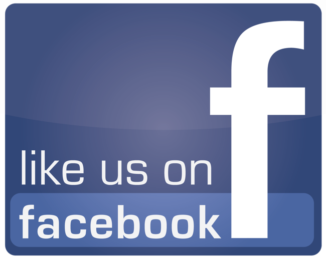 """""""Like us on Facebook"""" graphic"""