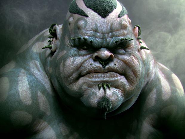 fat warrior