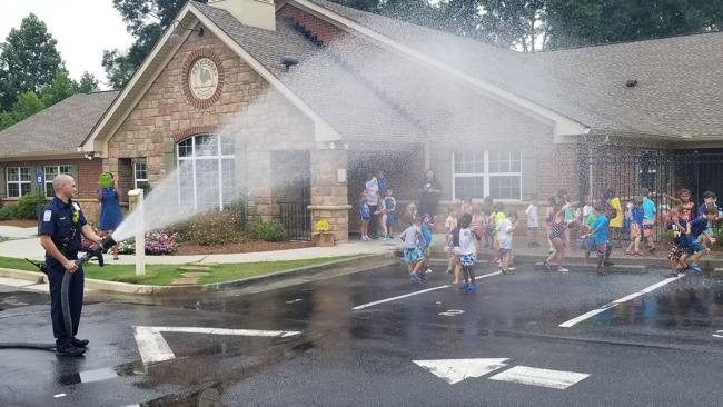 Community Helpers Visit Summer Adventure Club