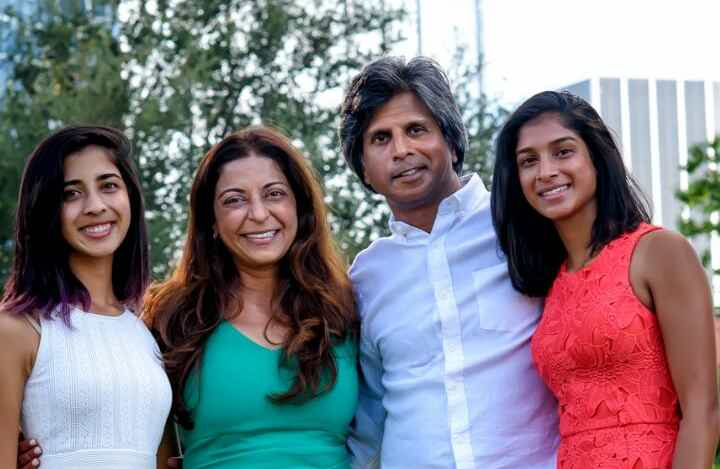 Franchise Owners of Primrose School Dr. Pratiksha Rigley and Dr. Noel Rigley with their daughters