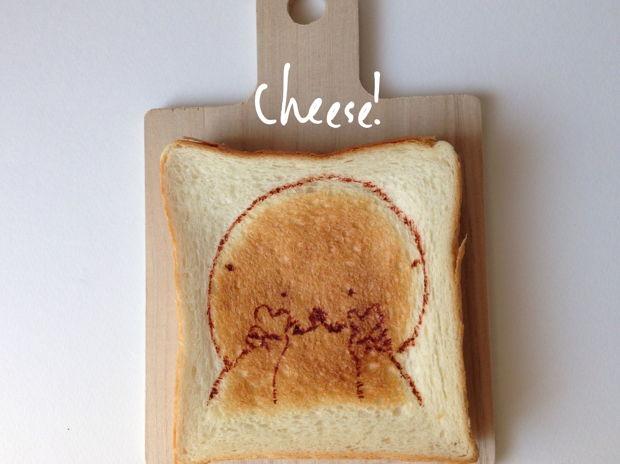 ハイ、チーズ!