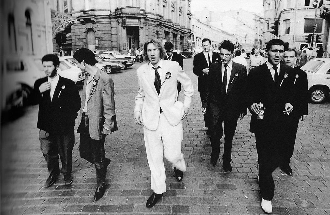 Акция «Футуристы выходят на Кузнецкий». Фотография: Игорь Мухин