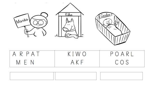 lectoescritura para niños pequeños