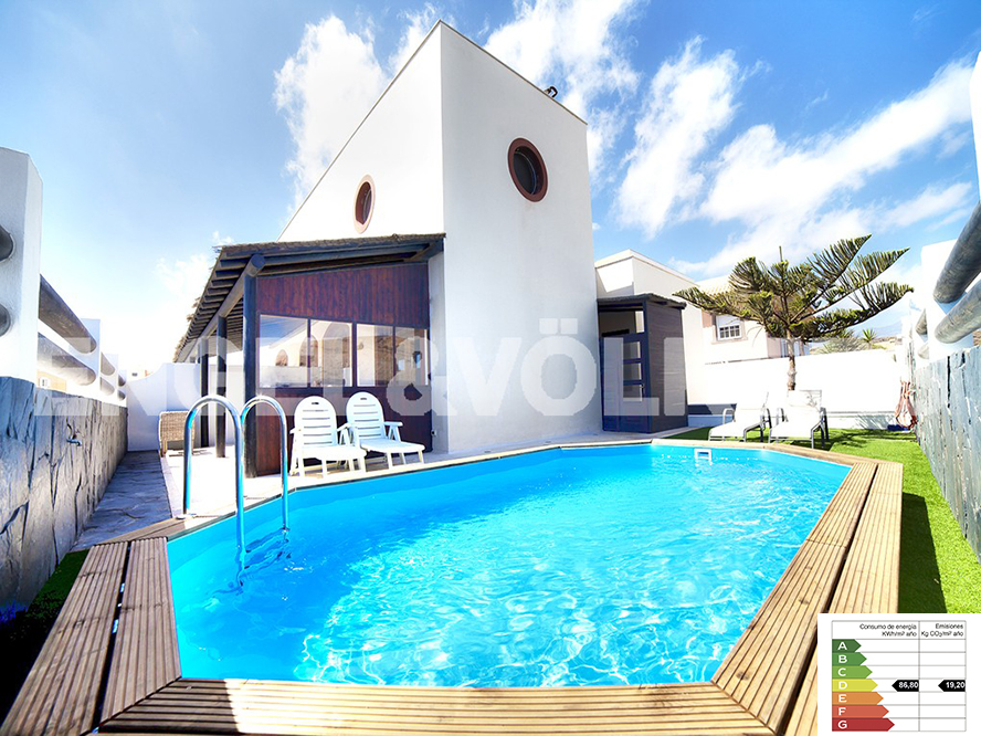 Costa Adeje - Property for sale in Tenerife: Luxury design villa on the seafront in El Médano, Tenerife South, Engel & Völkers Costa Adeje