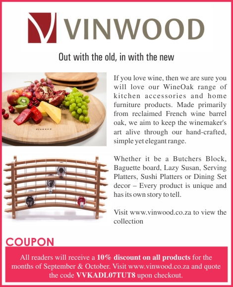 South Africa - Vinwood discount coupon