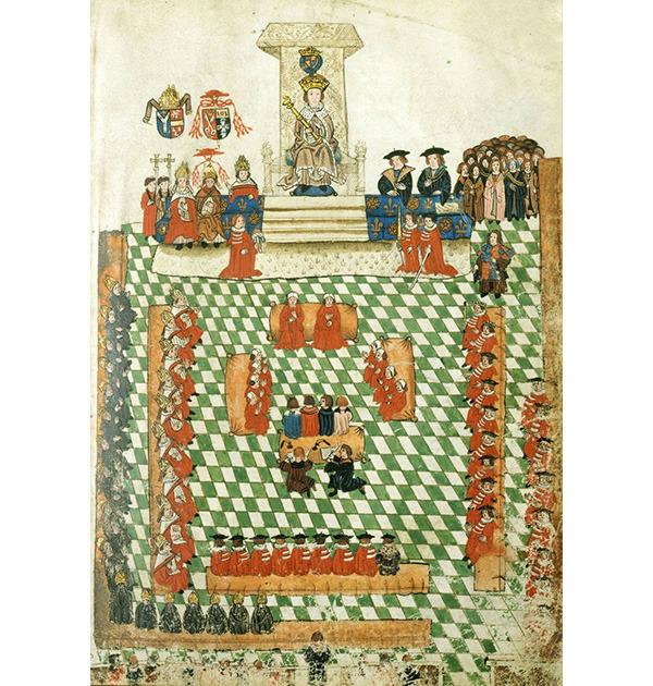 Король Генрих Восьмой на открытии парламента. 1523 / Wikimedia Commons