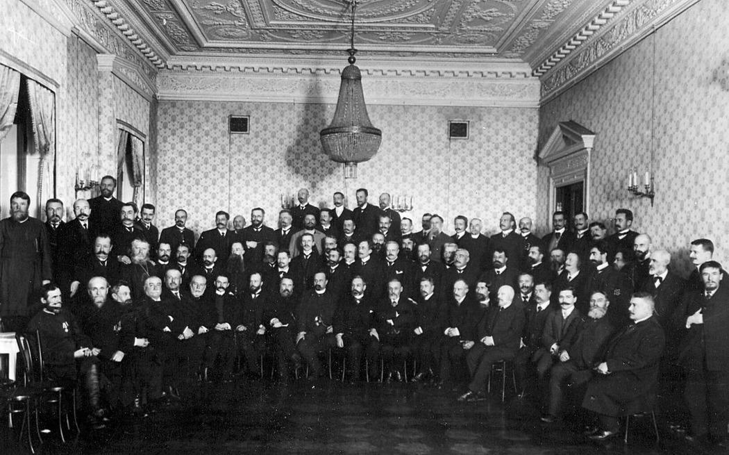 Группа депутатов от партии «Союза 17 октября» / Wikimedia Commons