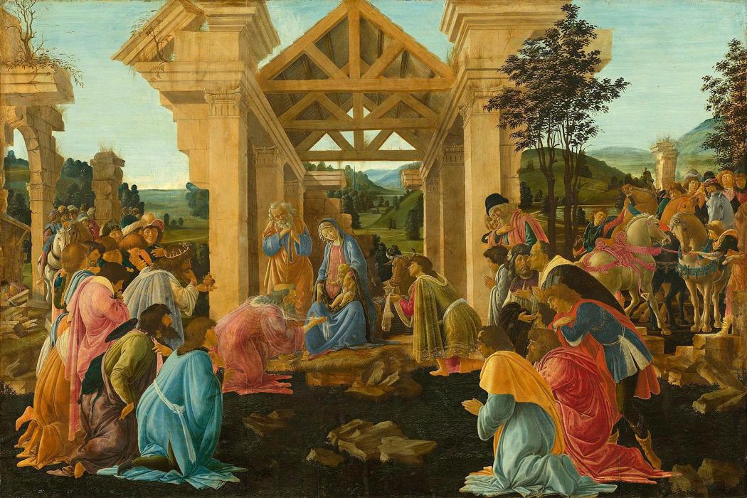 Сандро Боттичели. «Поклонение Волхвов» была продана за 838 тысяч долларов