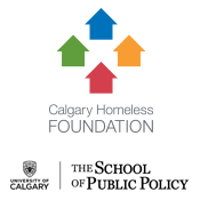 Calgary Homeless Foundation and The School of Public Policy Logo