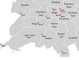 Standorte in Berlin & Potsdam