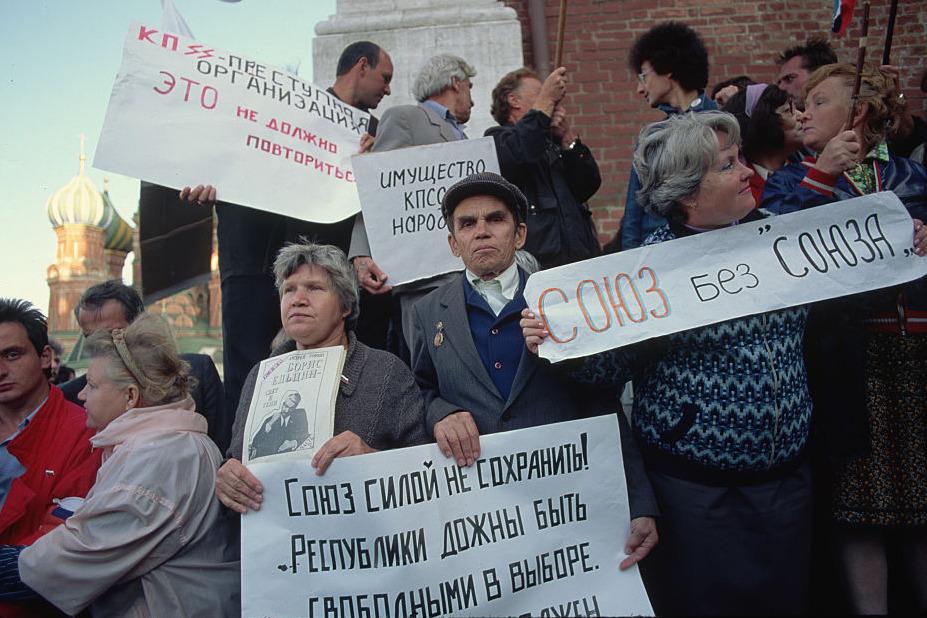 Москва, 1991 год / Peter Turnley / Corbis