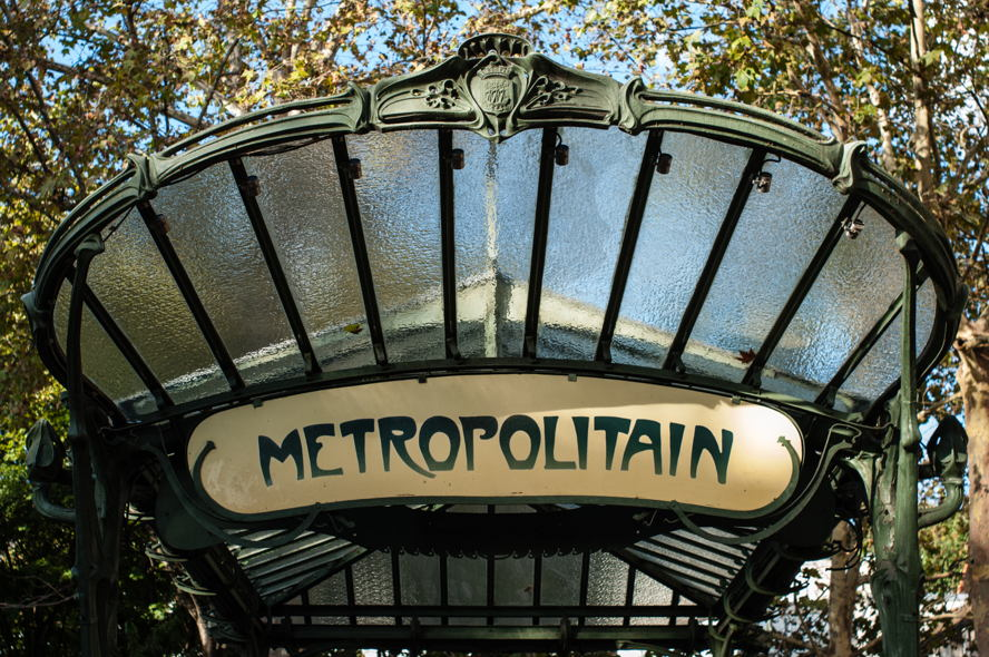 Paris - Station de metro Paris