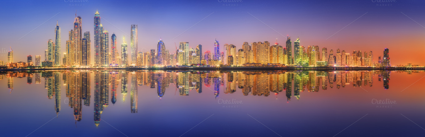 Real estate in Dubai, United Arab Emirates - Marina panorama.jpg