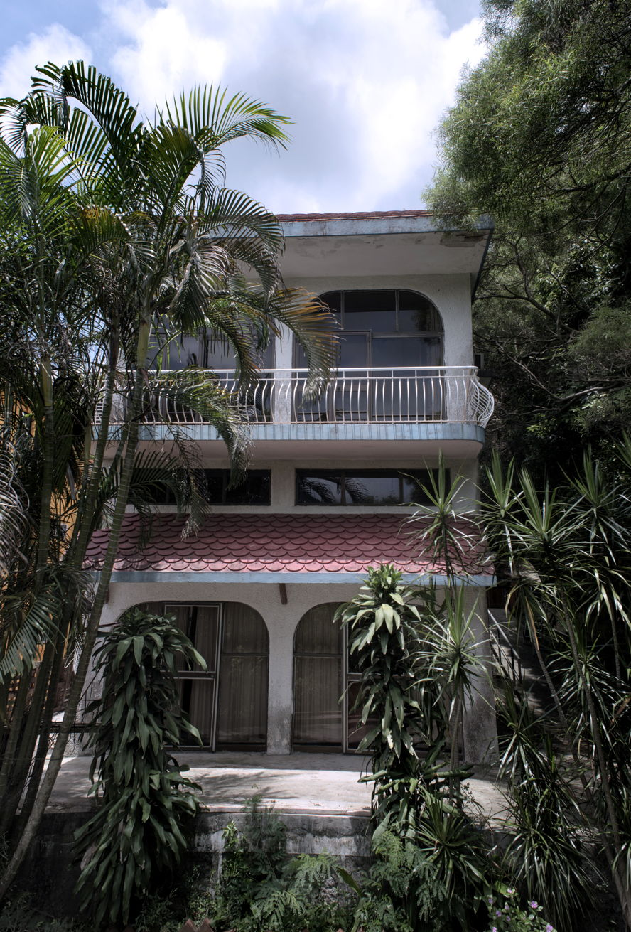 95 Caine Road, Mid Levels - House 54_house front_main.jpg