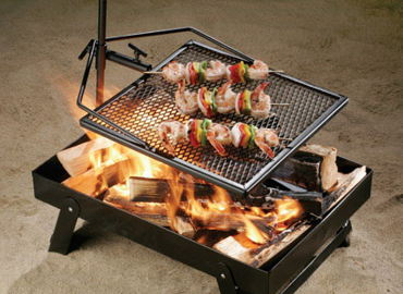Adjust-A-Grill Campfire