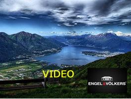Flight over Lago Maggiore