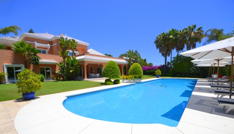 Marbella - W-022KIW Majestic villa 200 meters from the beach in Bahía de Marbella