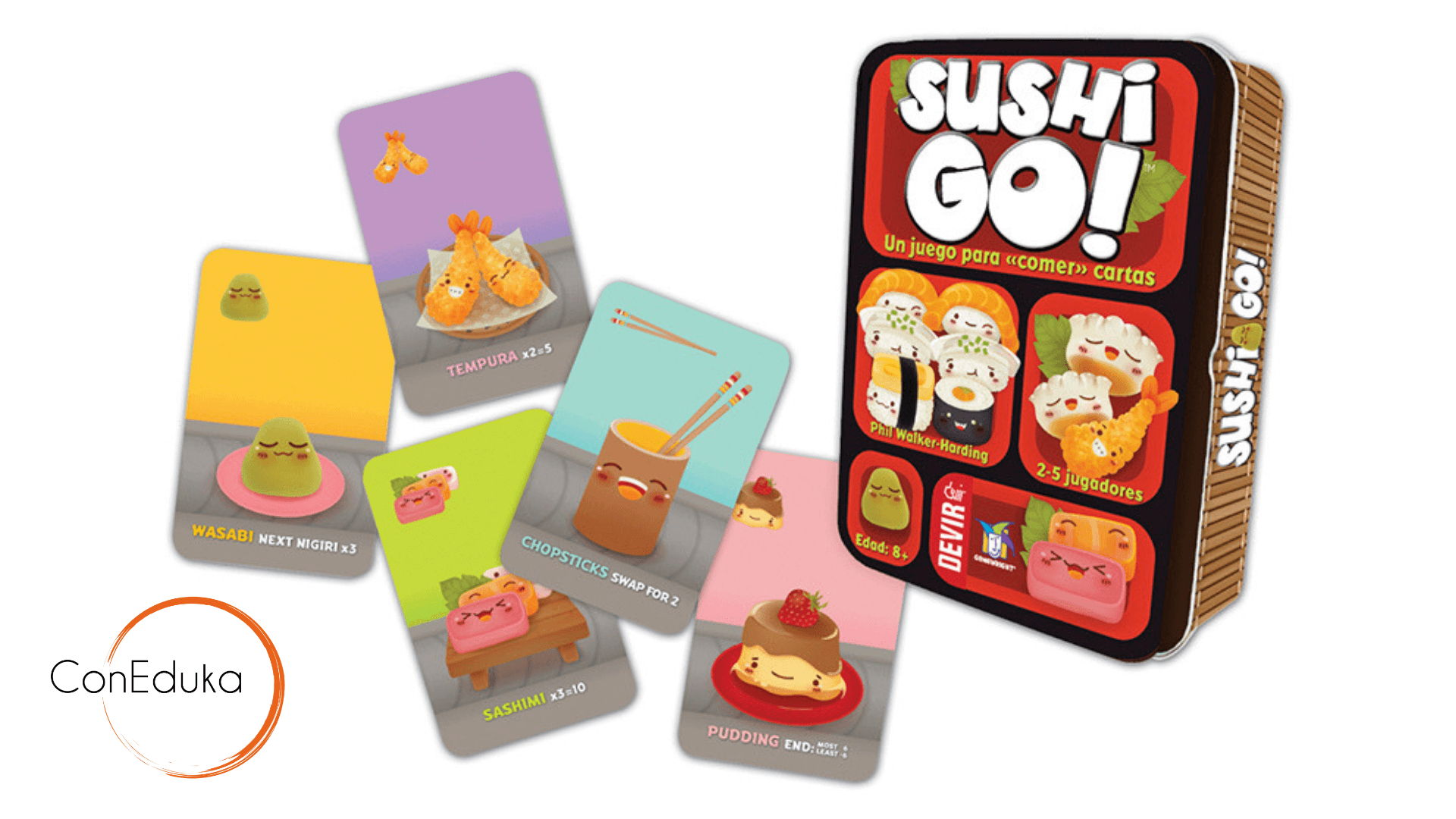 Sushi Go! juego