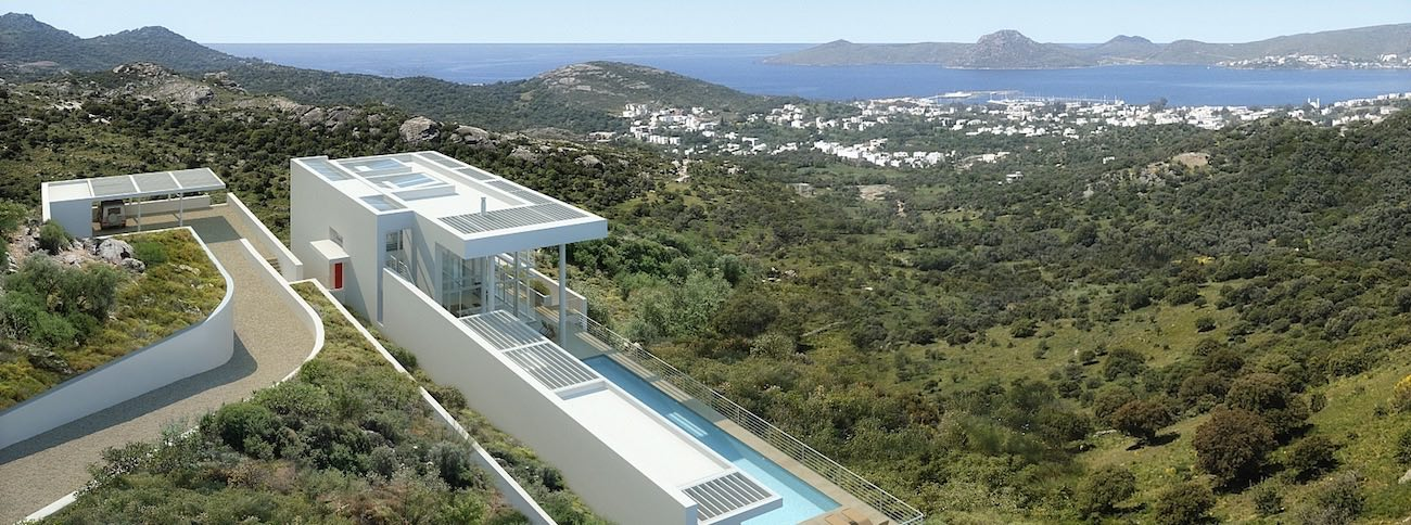 Ortakent-Bodrum - Properties for sale on the Turkish riviera. Villas, Houses, Apartments and Land