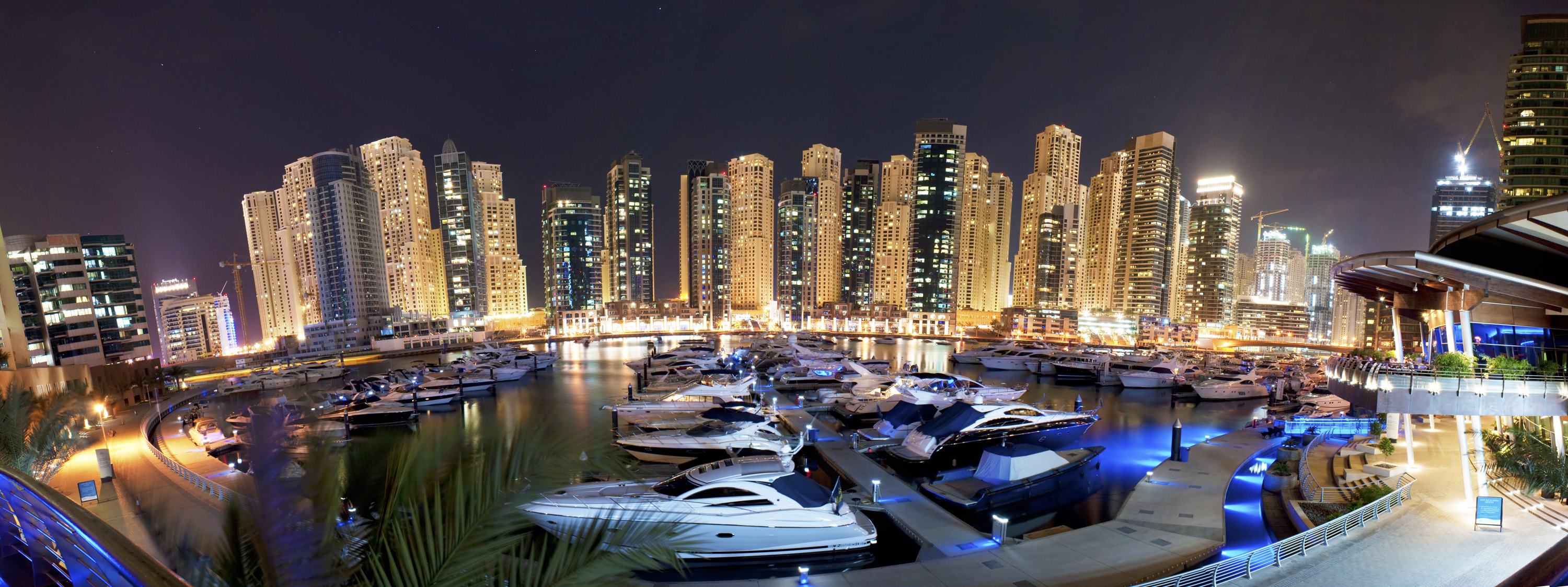 Dubai - Dubai Marina by Night