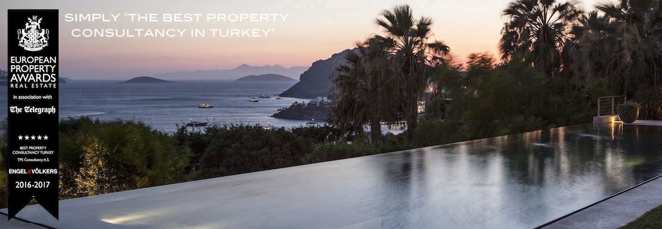 Ortakent-Bodrum - Real Estates in Bodrum in Turkey on the Turkish riviera - Villa with sea view