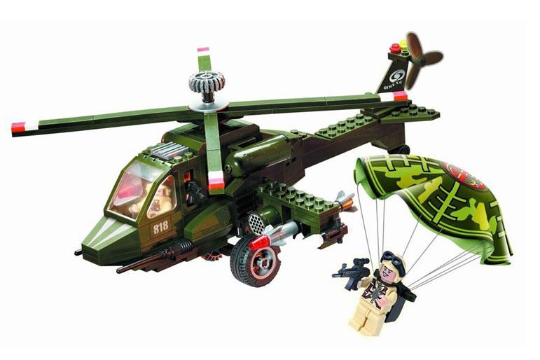 Конструктор «Военный вертолет»
