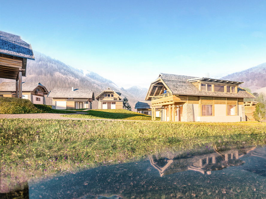 Immobilien in Velden am Wörthersee - Anleger Chalet Bad Kleinkirchheim