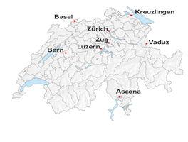 Commercial Standorte der Schweiz