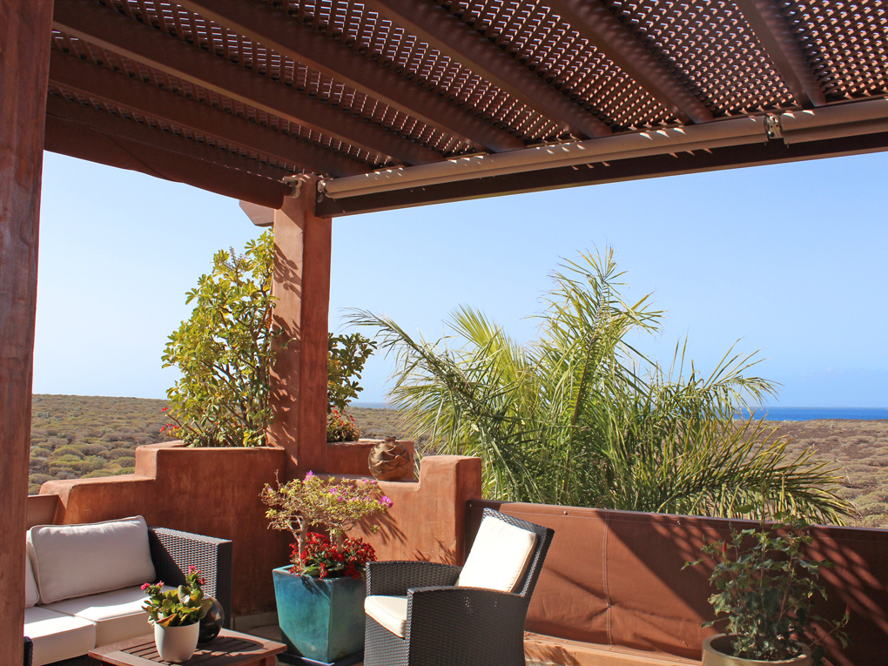Costa Adeje - Duplex-Penthouse with sea views in Palm Mar- Terrace