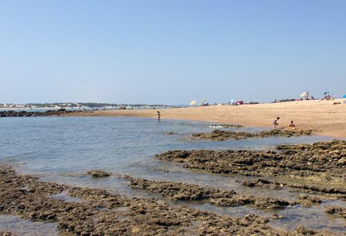 Playa Lavaculos Sancti Petri