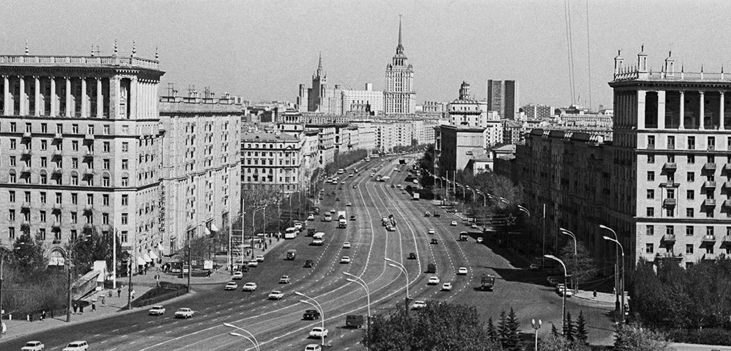 Вид на проспект Маршала Гречко, 1977. Фото: Наум Грановский/ТАСС