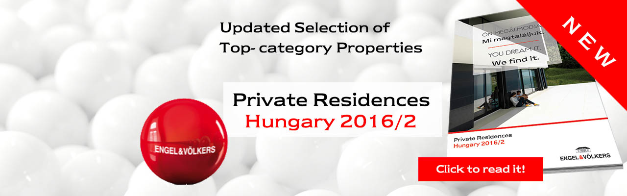 Real estate in Budapest - Private Residences Hungary 2016/2.
