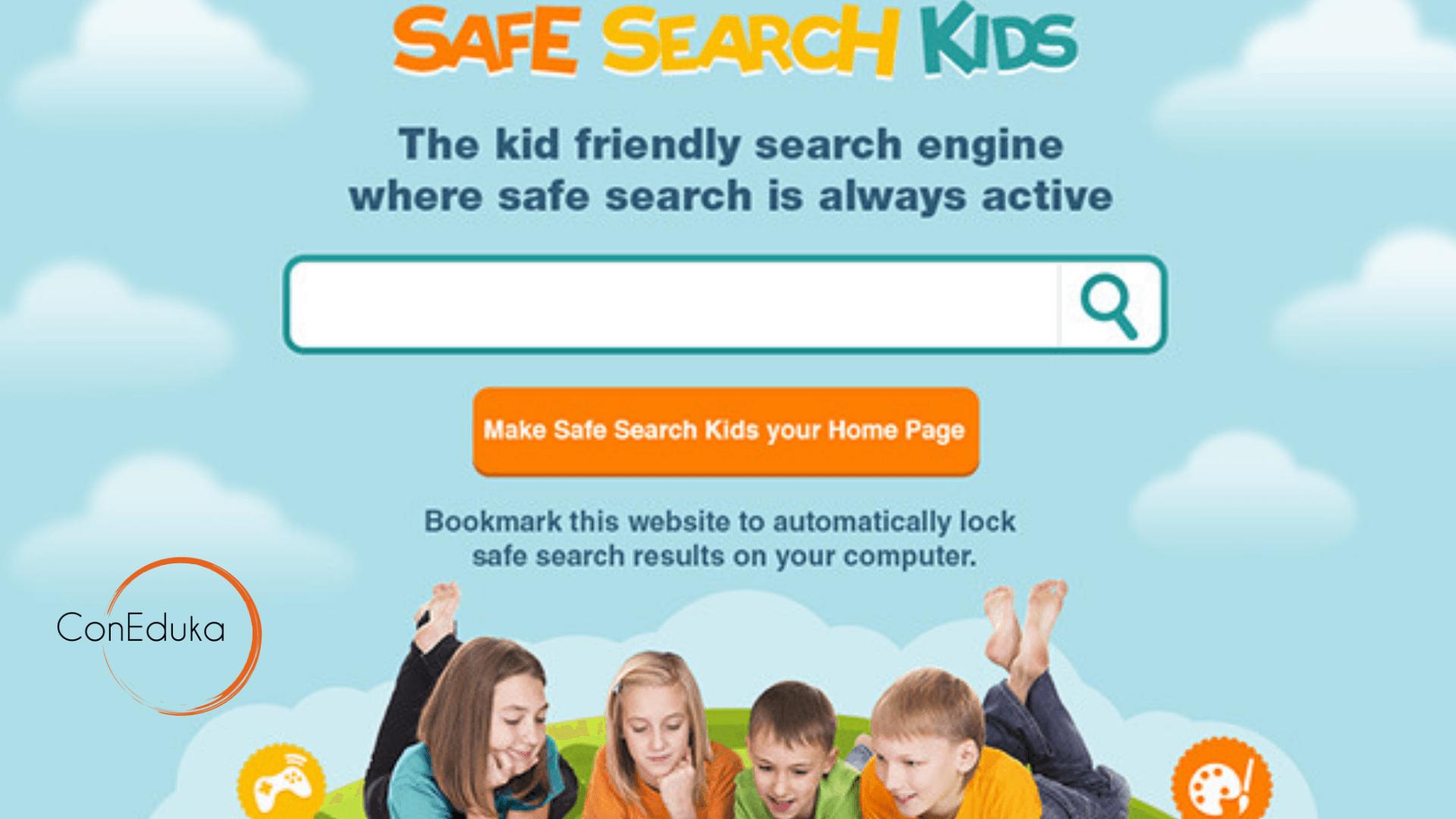 navegador niños pequeños