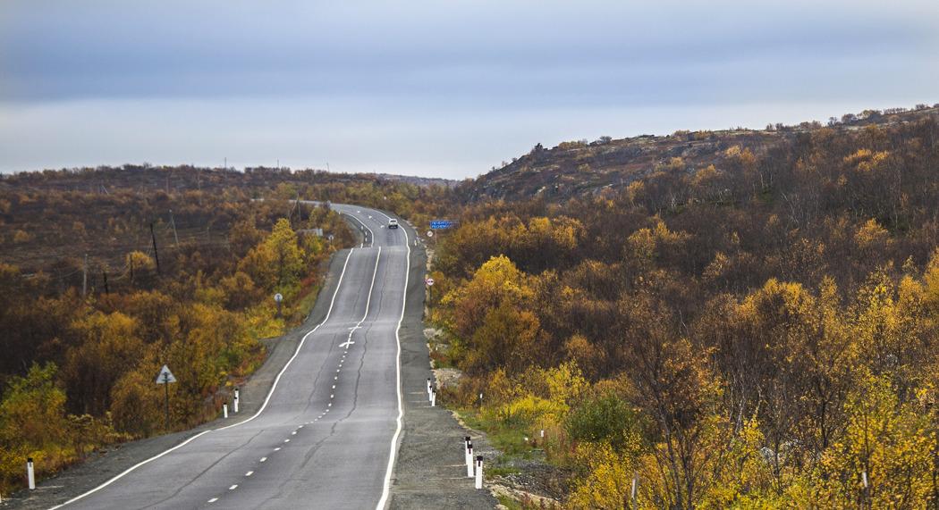 Дорога из Мурманска в Киркенес, построенная норвежцами. Фото: Ninara / flickr.com