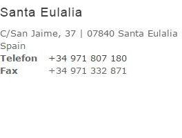 Kontakt Santa Eulalia Shop