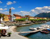 Ascona - Plot space close to the Piazza of Ascona