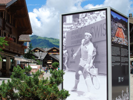 Real estate in Gstaad - Tennis