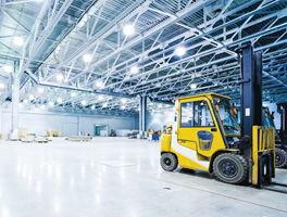 Industrie, Logistik, Lagerhallen