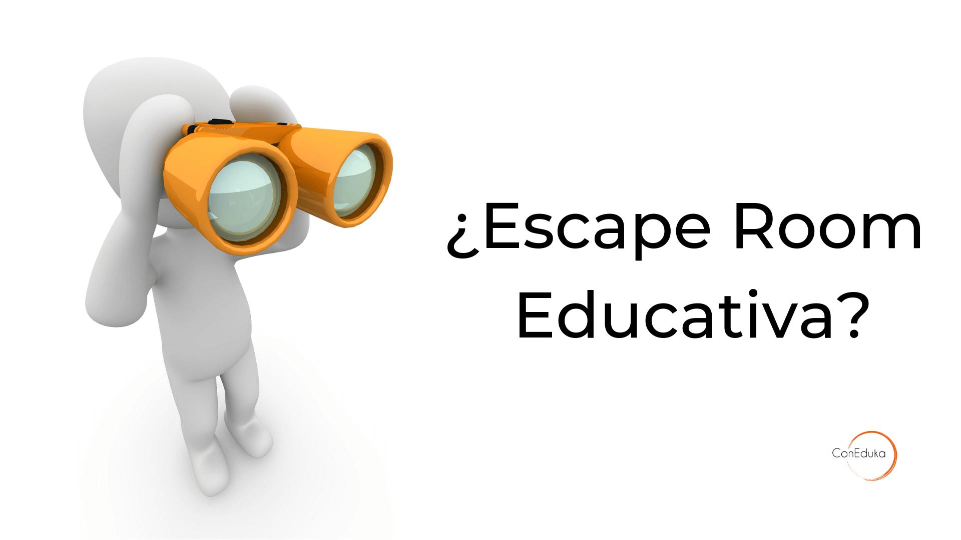 qué es un escape room educativo