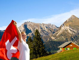 Living and buying property in Switzerland