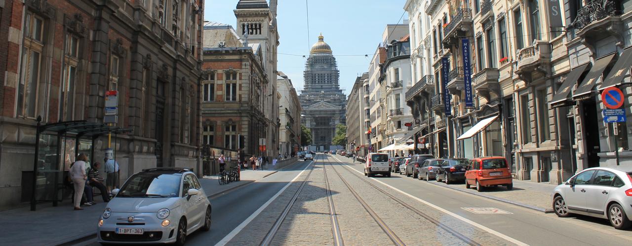 Bruxelles - Rue de la Régence - Palais de Justice