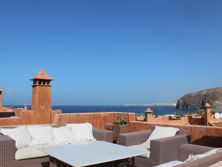 Costa Adeje - Duplex-Penthouse with sea views in Palm Mar