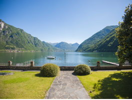 Campione d'Italia und Luganer See