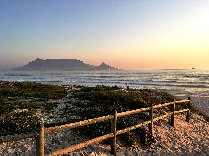 Cape Town - Daniela Toth took picture of the view in blouberg during sun set