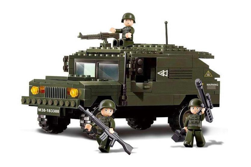 Сухопутные войска: броневик с пулеметом