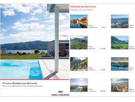Die schönsten Immobilien der Schweiz & Liechtensteins