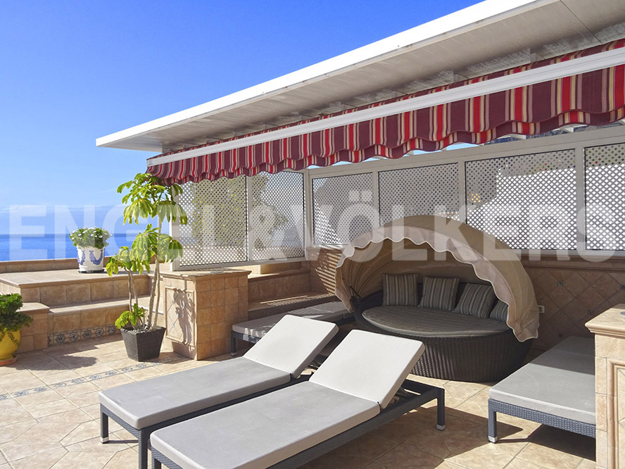Costa Adeje - Property for sale in Tenerife: Luxury Villa in Los Gigantes,  Tenerife West, Engel & Völkers Costa Adeje