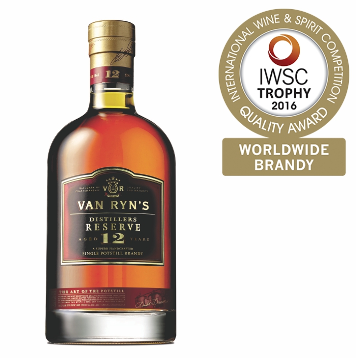 Cape Town - Van Ryns 12 Year Award